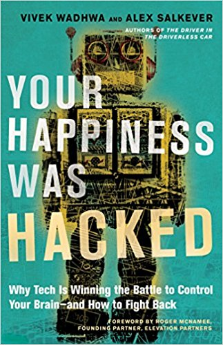 Book called Your Happiness Was Hacked